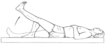 Straight leg raising