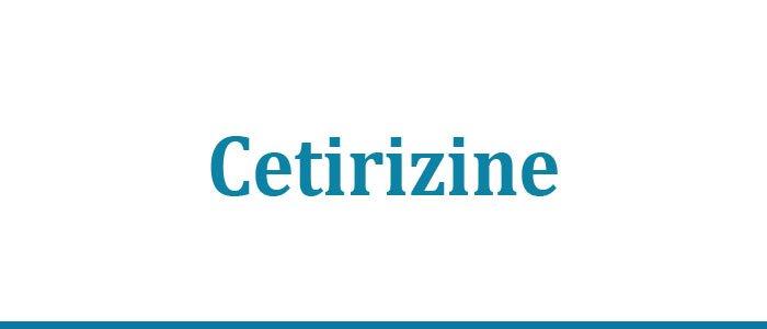 Cetirizine Uses
