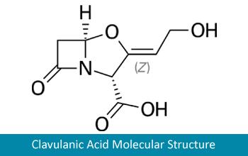 Clavulanic acid molecular structure