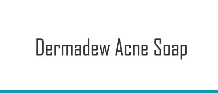 Dermadew Acne Soap