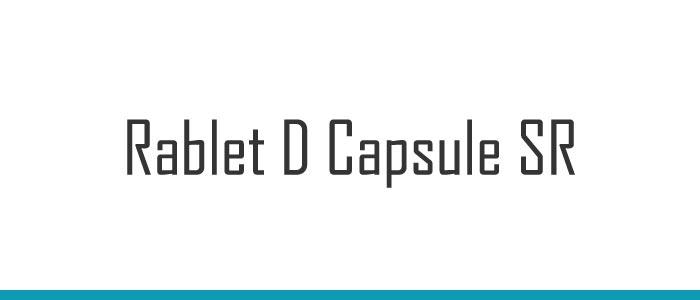 Rablet D Capsule SR