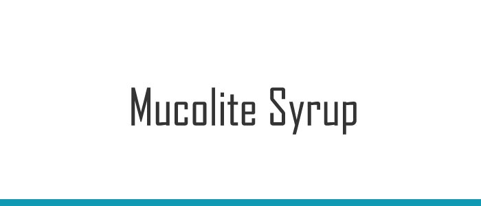 Mucolite Syrup