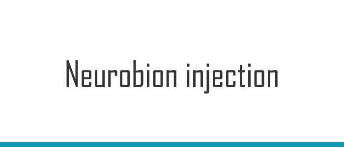 Neurobion injection