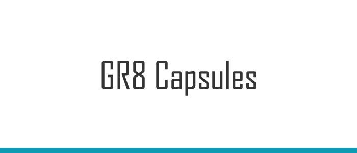 GR8 Capsules