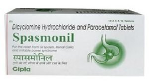 Spasmonil Tablets by Cipla