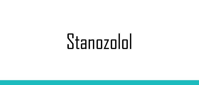 Stanozolol - A Synthetic Steroid