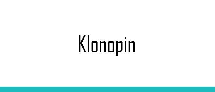 Klonopin