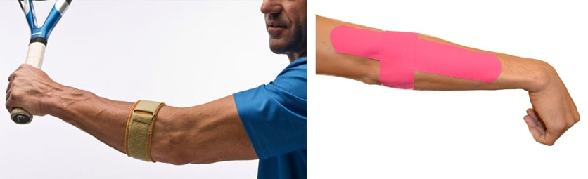 Physiotherapy exercise for tennis elbow