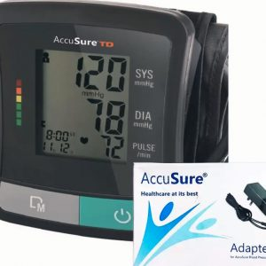 Accusure Bp Monitor TD-1029-New With Adpater